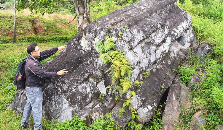 Batu Basiha, Keunikan Sisa Letusan Gunung Toba
