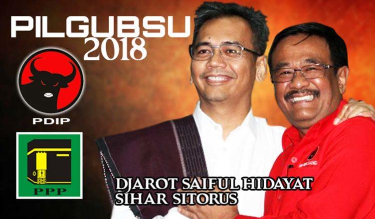Djarot Saiful Hidayat - Sihar Sitorus Sah Ikut Pilkada Sumut