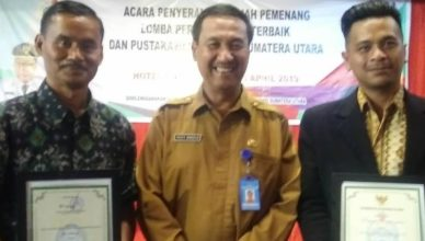 Balai Pustaka FBBI Raih Juara 2 Perpustakaan Terbaik Tingkat Sumatera Utara