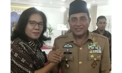 BukBer Gubernur Sumatera Utara dengan Wartawan Media