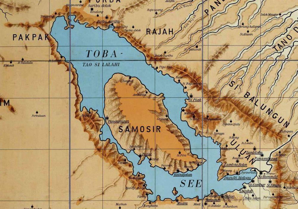 Banyak yang Tidak Tahu Kalau Danau Toba Punya 8 Pulau