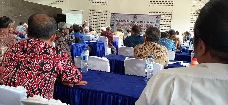 Seminar Marhata Adat: Mendorong Orang Batak Makin Giat Menggali dan Melestarikan Adat dan Budaya Batak