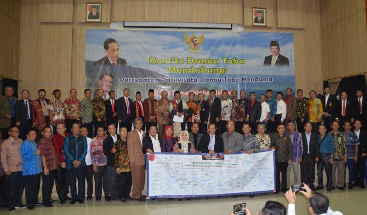 Kumpulan Marga Batak se-Jabodetabek Deklarasikan Percepatan Pariwisata Danau Toba