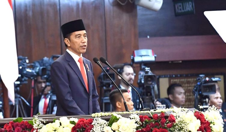 Pidato Presiden Jokowi Pada Pelantikannya untuk Periode Kedua