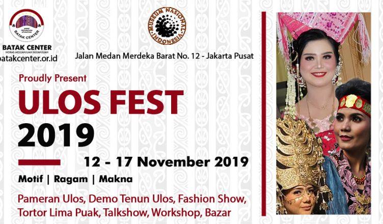 BATAK CENTER Akan Selenggarakan Ulos Fest 2019