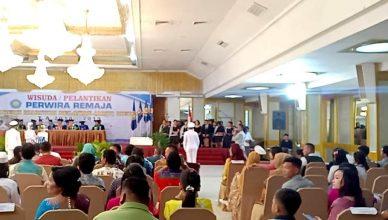 Foto: Sidang Senat AMB Medan dalam pelantikan wisudawan/wati T.A 2018/2019