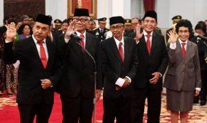 Foto: Para Dewan Pengawas KPK periode 2019-2023 (foto ist)