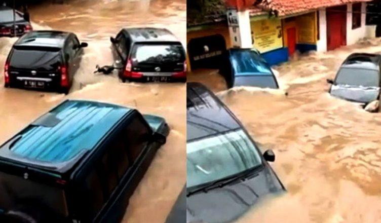 Memasuki Tahun 2020, Jabodetabek Lumpuh Diterjang Banjir