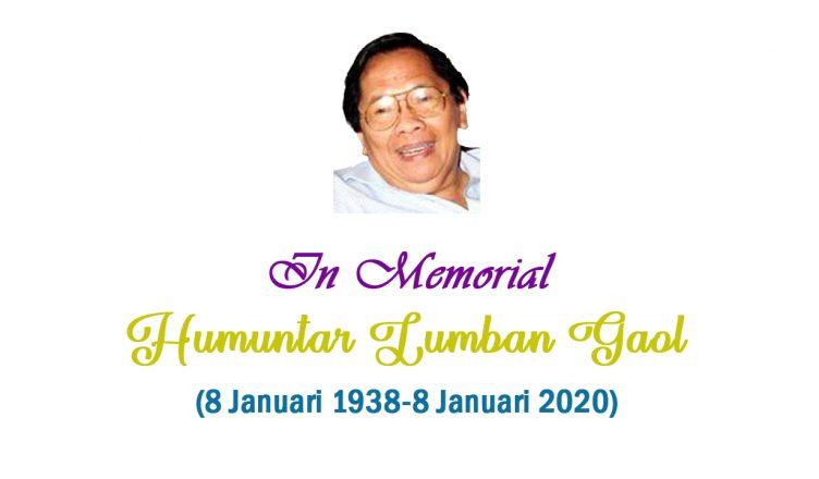 In Memorial Humuntar Lumban Gaol