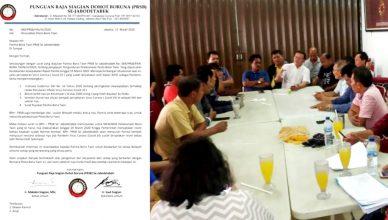 Patuhi Peringatan Pemerintah Terkait Virus Corona, Pesta Bona Taon PRSB Se-Jabodetabek Ditunda