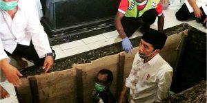 Lihat Momen Jokowi di Liang Lahat, Ketum FBBI: Luar Biasa Presiden Kita Ini