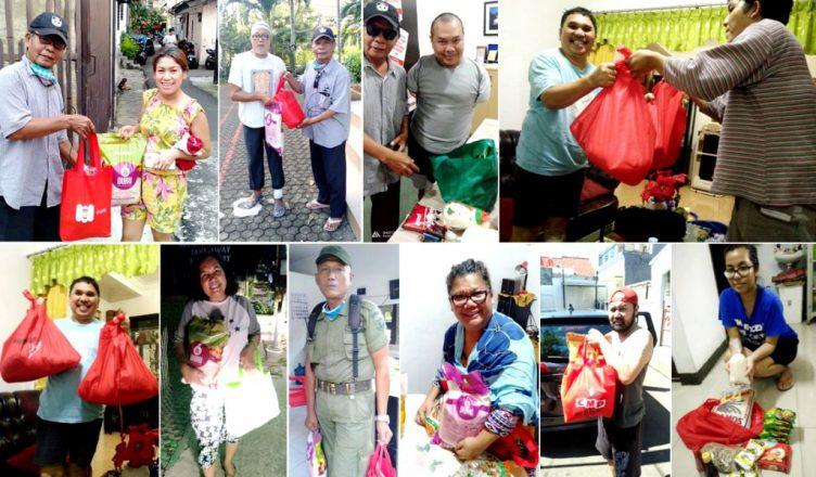 DPP FBBI Berbagi Sembako Kepada Para Anggota Terdampak Covid-19