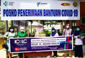Serah Terima di RSUP Adam Malik, Medan