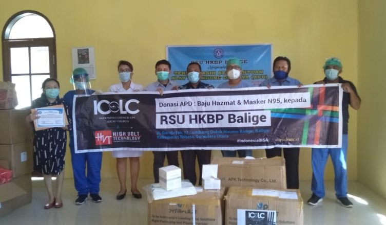 Rumah Sakit Para Penerima Donasi APD dari ICoLC dan HVT di Sumut, Sangat Antusias dan Berterimakasih