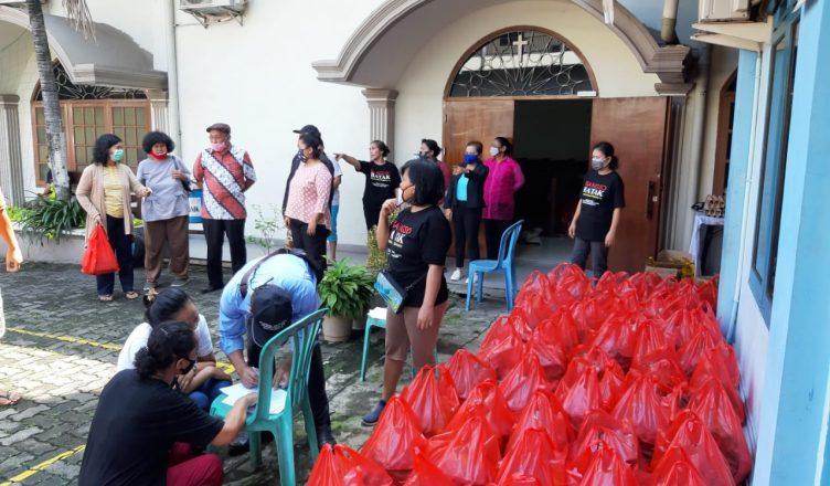 HKBP Pasar Rebo Jakarta Berdiakonia Sosial di Masa Wabah Covid-19
