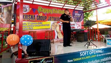 Di HUT ke-4 Krisna Group Jatiwaringin, Dr. Parbuntian Sinaga, SH., MH Beri Motivasi Kesiapan Mental Jika Ingin Raih Doktor