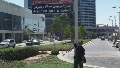 Nama Jalan President Joko Widodo Street di Abu Dhabi
