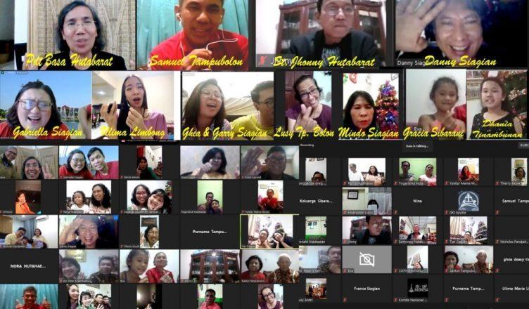 Keluarga Besar Pomparan Ompu Tiar Tampubolon se-Indonesia dan Mancanegara, Rayakan Natal 2020 Secara Virtual