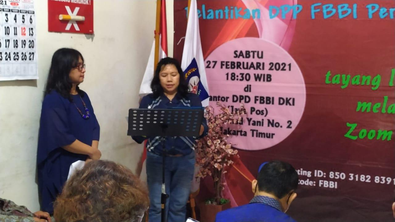 Pelantikan DPP FBBI, DPD DKI, dan Pembubaran Panitia RAPIMNAS & MUNAS II