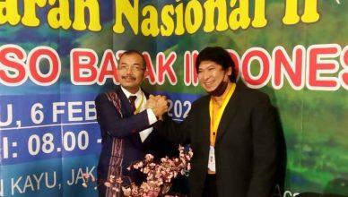 Dr. Ronsen Pasaribu Terpilih Kembali Menjadi Ketua Umum DPP FBBI Periode 2021-2024