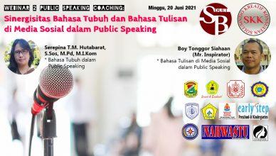 Bahasa Tubuh dan Bahasa Medsos dalam Public Speaking